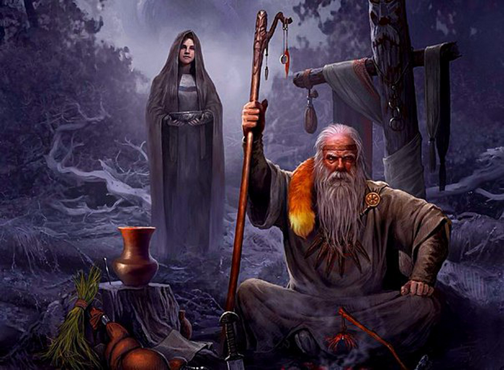 Картинки по запросу славянские волхвы