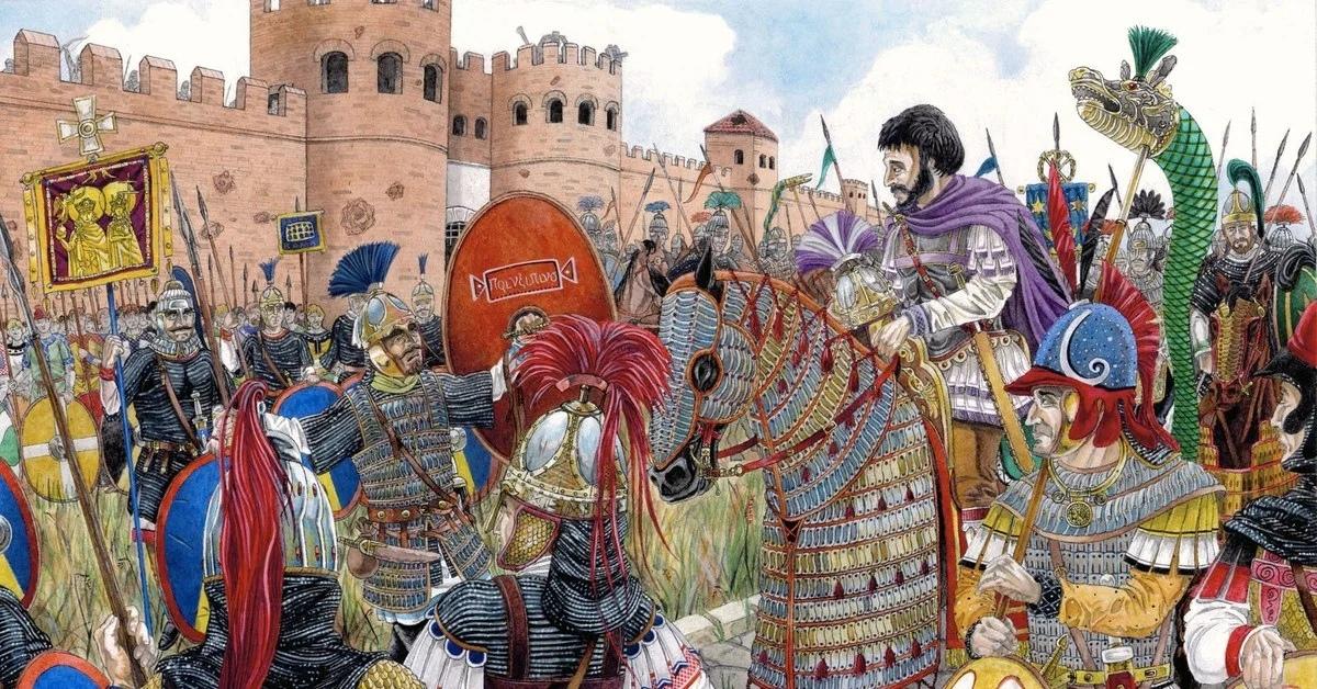 Велизарий, серб на службе ромейской империи - Славянская