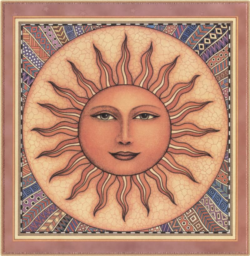 Славянские картинки солнца