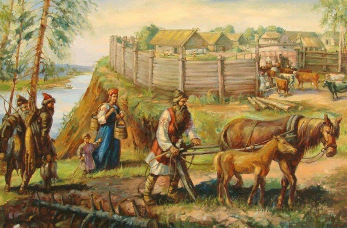 древние славяне с картинками данном выпуске покажу